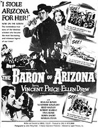 poster The Baron of Arizona