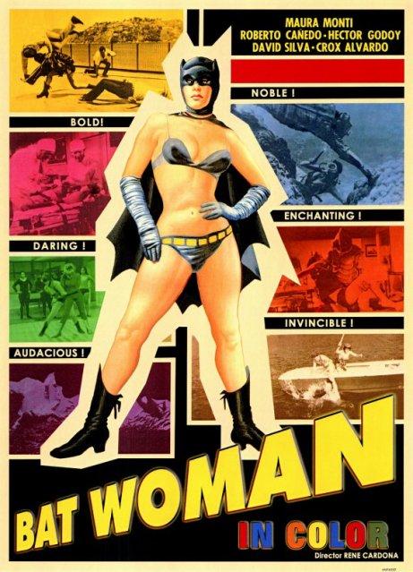 la mujer murcielago poster batwoman