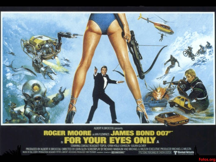 Movie-Poster-James-Bond-007-For-Your-Eyes-Only